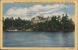 Bonnicastle, the White Fathers Missionaries of Africa, Alexandria Bay Postcard
