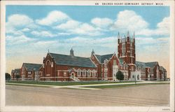 Sacred Heart Seminary Postcard
