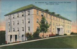 Windham Hall, Connecticut College for Women Postcard