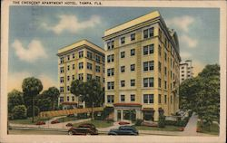The Crescent Apartment Hotel Postcard