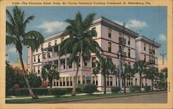 The Floronton Hotel, Army Air Forces Technical Training Command Postcard