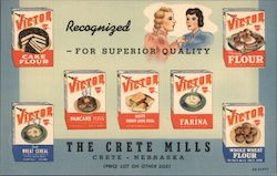 The Crete Mills - Recognized for superior quality Postcard