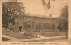 Alice Shevlin Hall, University of Minnesota Postcard