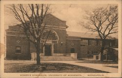 Women's Gymnasium, University of Minnesota Postcard