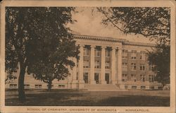 School of Chemistry, University of Minnesota Postcard