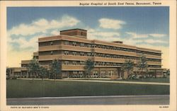 Baptist Hospital of South East Texas Postcard