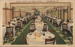 Park Cafe and Sea Grill Postcard
