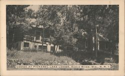 Lodge at Pickerel Lake Lodge Postcard