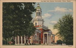 Pat Neff Hall, Baylor University Postcard