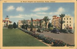 St. Mary's Hospital and Sanatorium Postcard