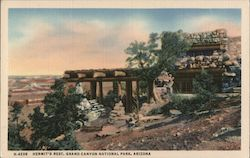 Hermit's Rest, Grand Canyon National Park Postcard