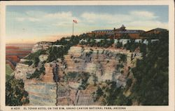 El Tovar Hotel on the Rim, Grand Canyon National Park Postcard