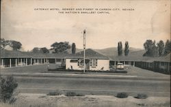 Gateway Motel, Newest and Finest in Carson City, The Nations Smallest Capital