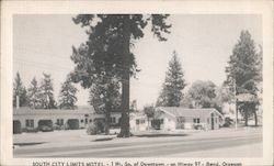 South City Limits Motel - 1 mi. so. of downtown - on Hiway 97 Postcard