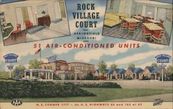 Rock Village Court Postcard