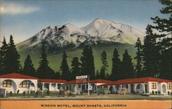 Mission Motel Postcard