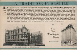 The Washington hotel - A tradition in Seattle Postcard
