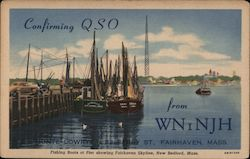 Confirming QSO from WNiNJH Postcard