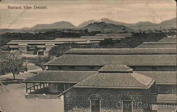 View of Barracks Deolali India