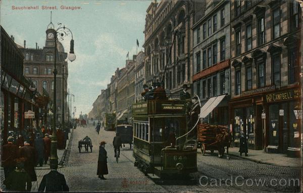 Sauchiehall Street Glasgow Scotland