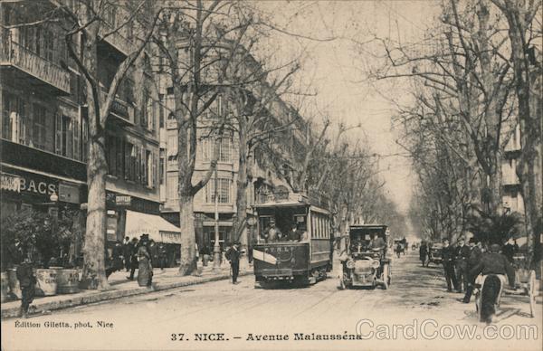 Avenue Malausséna Nice France