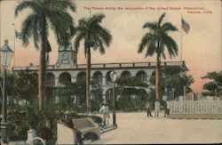The Palace During the Occupation of the United States Intervention Postcard