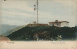 Signal Station on the Peak Postcard