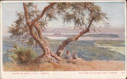 View of Vyro village Postcard