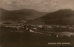Braemar from Morrone Postcard