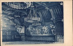Prunksaal des Rathhauses Postcard