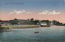 Port of Corinth Postcard