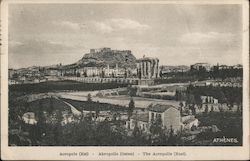 Athens. The Acropolis Postcard