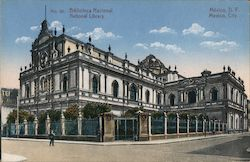 National Library Postcard