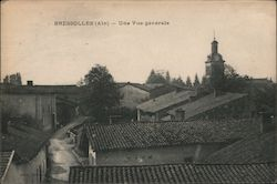 General view of Bressolles (Ain) Postcard