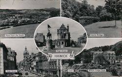 Views of Hawick Postcard