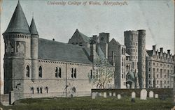 University College of Wales Postcard