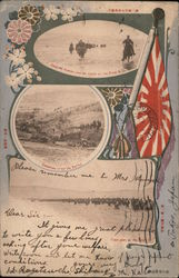 Views of the Battle of Yalu River, Russo-Japanese War Postcard