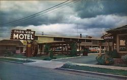Park View Motel Postcard