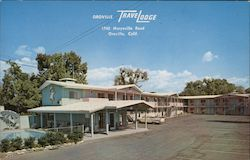 Oroville TraveLodge Postcard