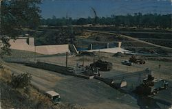 Fish handling facilities on Feather River Postcard