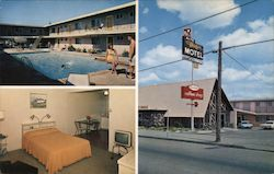 Mayfair Motel and Apartments Postcard