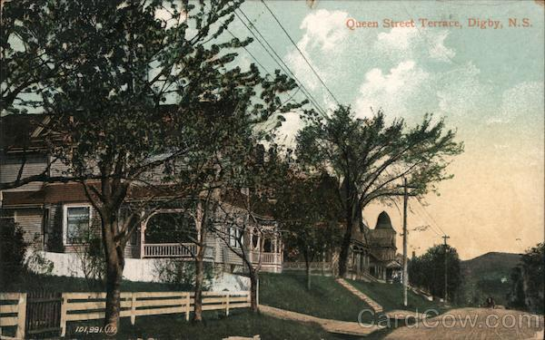 Queen Street Terrace Digby NS Canada Nova Scotia