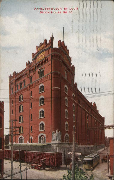 Anheuser-Busch St Louis Stock House No. 10 St. Louis Missouri