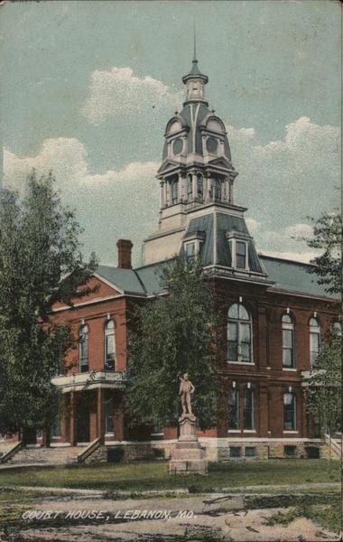 Court House Lebanon Missouri