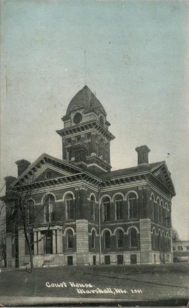 Court House Marshall Missouri