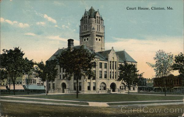 Court House Clinton Missouri