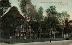 Crescent Club House, Bay Ridge Postcard