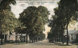 Spring Street South from Seventh Street Postcard