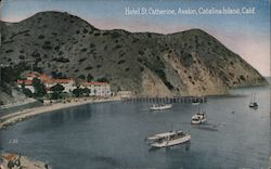 Hotel St. Catherine, Avalon Postcard