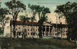 King's College Postcard